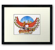 Heart Gold -JAP ver.- Framed Print
