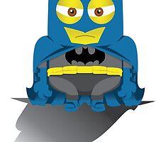 Batminion by kingkongartprod