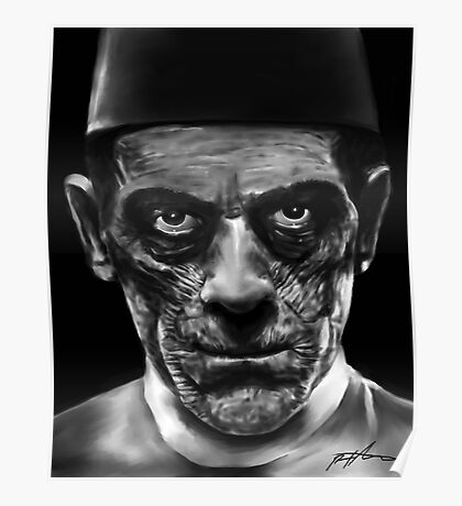 "Boris Karloff as Ardeth Bey from ""The Mummy"" Poster"
