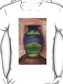 Hand-Painted Vase T-Shirt