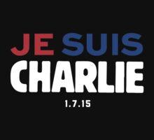 Je Suis Charlie / Flag Colors by Quik86