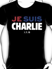 Je Suis Charlie / Flag Colors T-Shirt