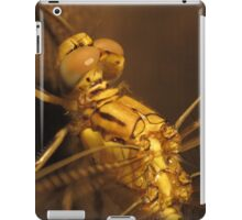 Gold Dragonfly iPad Case/Skin