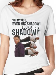 LOOK AT HIS SHADOW! Women's Relaxed Fit T-Shirt