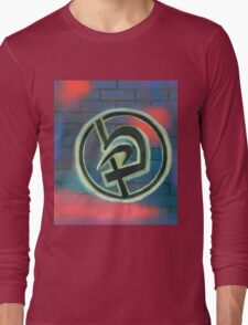 Krav Maga Graffiti Long Sleeve T-Shirt