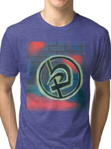Krav Maga Graffiti Tri-blend T-Shirt