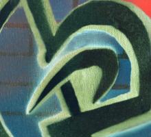 Krav Maga Graffiti Sticker