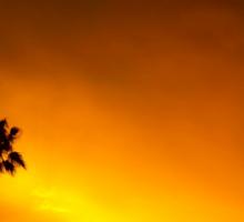 Erie Fiery Sunset Sticker