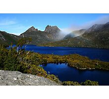 Sapphire Waters of Dove Lake Photographic Print