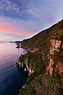 The Bluff & Pink Sky Dawn by Robert Mullner
