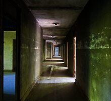 asylum corridor by rob dobi