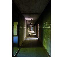 asylum corridor Photographic Print