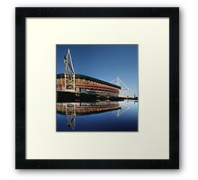 Millennium Stadium, Cardiff, Wales Framed Print