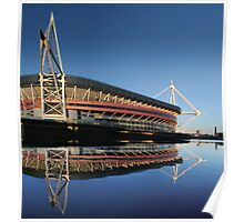 Millennium Stadium, Cardiff, Wales Poster