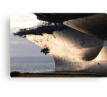 USS Midway 2 Canvas Print