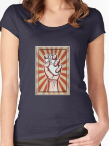 Online Activist Women's Fitted Scoop T-Shirt
