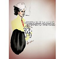 Cruella DeVil  Photographic Print