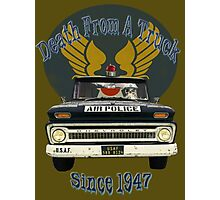 Air Force Peacekeepers: Death From A Truck Photographic Print