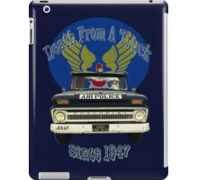 Air Force Peacekeepers: Death From A Truck iPad Case/Skin