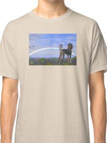 Black saluki  Classic T-Shirt