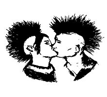 Punk Love Photographic Print