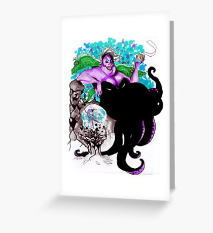 Ursula Greeting Card