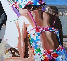 That Girl on the Beach by Anna Bartlett