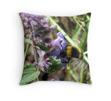 Whirring Wings Throw Pillow