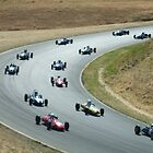 turn 6 infenion raceway/bullet race cars by pclark