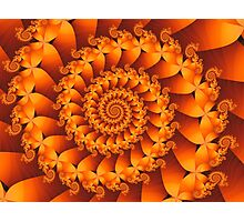 Fire Spiral Photographic Print