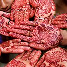 Henna Hands   (Limited Edition Print of 50) by Michelle Walsh