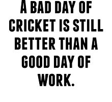 A Bad Day Of Cricket by kwg2200
