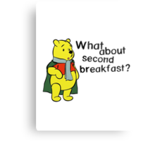 What about second breakfast? Metal Print