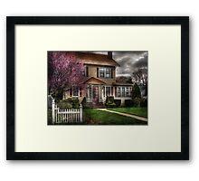 Spring Weather Framed Print