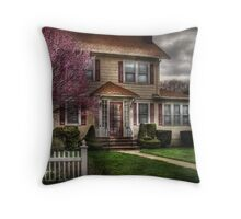 Spring Weather Throw Pillow