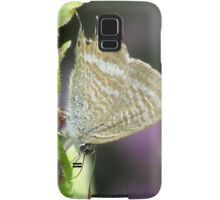 Long-tailed Pea Blue Butterfly Samsung Galaxy Case/Skin
