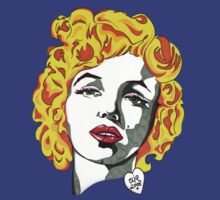 Marilyn Monroe t-shirt by Angelique  Moselle