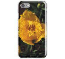 Tulip Yellow iPhone Case/Skin
