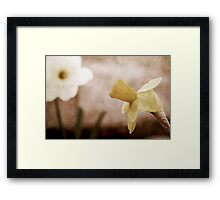 If These Flowers Could Speak Framed Print