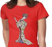 Graceful Geisha Womens Fitted T-Shirt