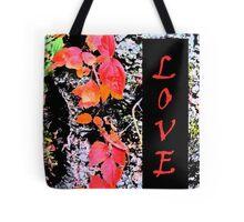 Love Nature Theme Tote Bag