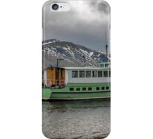 Tourist Boat at Glennridding iPhone Case/Skin