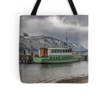 Tourist Boat at Glennridding Tote Bag
