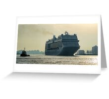 MSC Magnifica Greeting Card