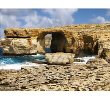 The Azure Window  Photographic Print