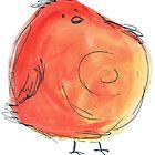 Fat bird by Calista Douglas