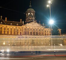 Amsterdam The Netherlands Palace on the Dam. by stuwdamdorp