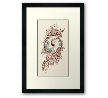 A Temporal Existence Framed Print