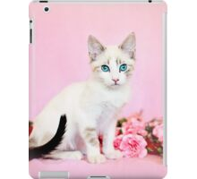 Kodiak on Carnations iPad Case/Skin