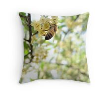 Honey and Olives Throw Pillow